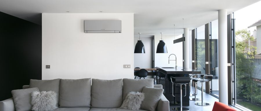 Can a split system aircon serve a big room effectively?